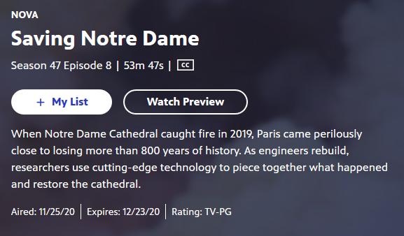 NOVA _ Saving Notre Dame