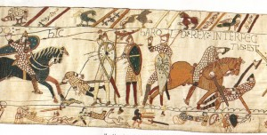 Bayeux Tapestry Death of King Harold II